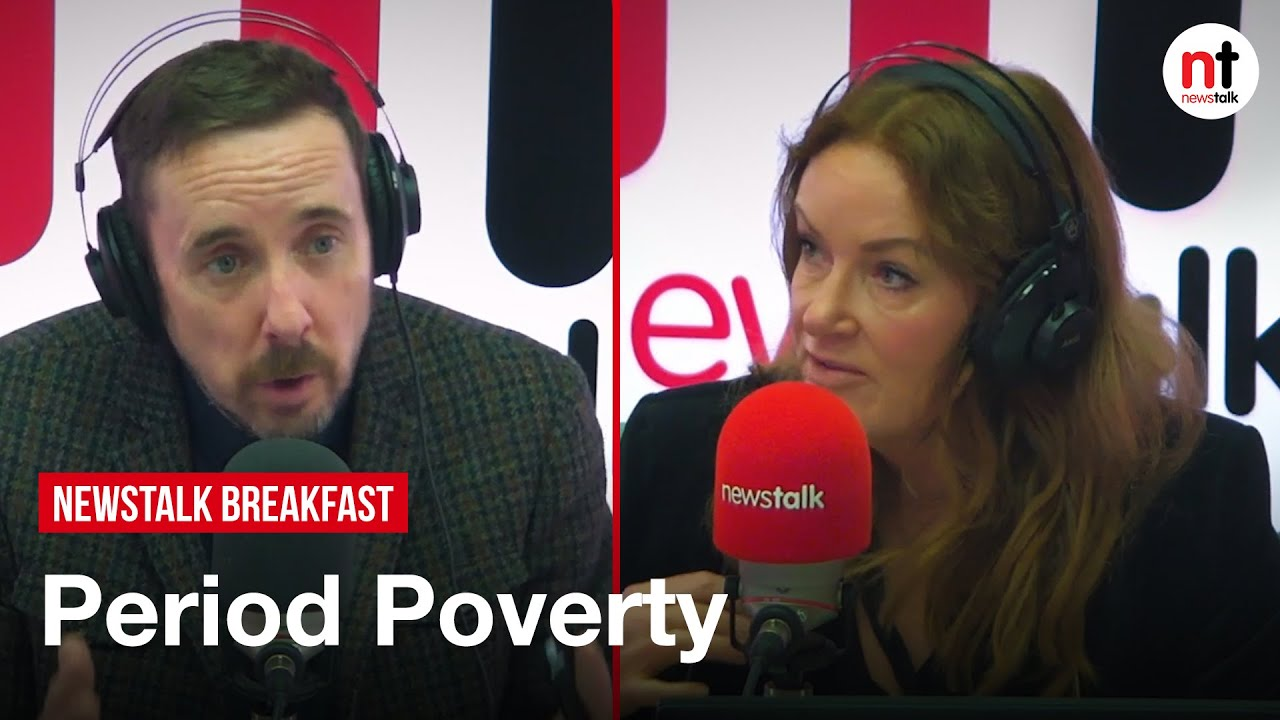 """I think we are getting it Wrong,"" Ciara and Shane discuss Period Poverty in Ireland"