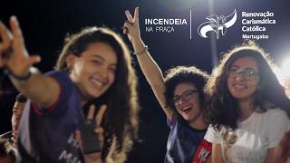 Ministério Jovem RCC Mortugaba // Incendeia na Praça
