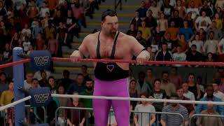 WWE 2K18: Demolition vs The Hart Foundation