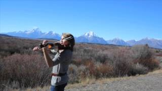 *Promentory Last of the Mohicans Theme on Violin   Taylor Davis