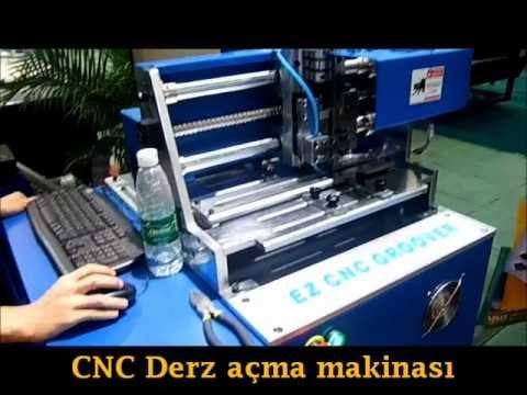 Kutu harf CNC derz açma makinası