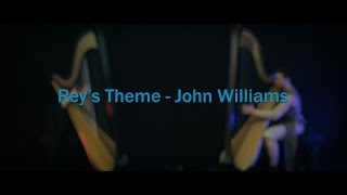 Rey's Theme (From Star Wars: Episode VII) [John Williams] // Amy Turk, Harps