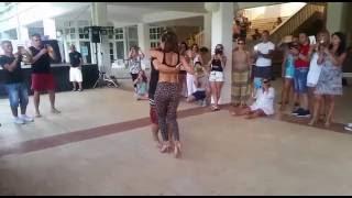 Kristofer Mencák & Stefania Vergani - Demo After Class Kizomba - AfroLatin Croatia 2016