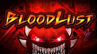 BLOODLUST PROGRESS!! EXTREME DEMON BY KNOBBELBOY & MORE!! (INTENSE REACTION!!)