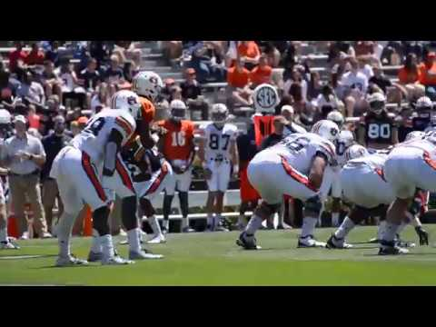 Highlights from the 2017 Auburn A-Day Game.