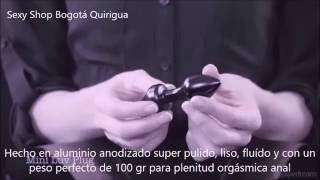 Mini Plug Anal de Aluminio con Diamante de Fantasía - Mini Luv Plug