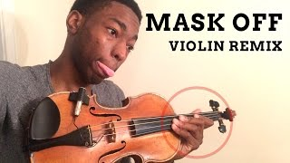 Craazzy Violin Remix of Mask Off 🎻 #MaskOffChallenge