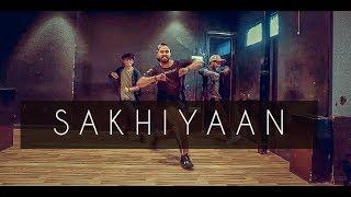 SAKHIYAAN   Maninder Buttar   Tejas Dhoke Choreography   Team Dancefit