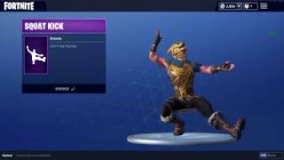 New Squat Kick Dance But With Hardbass Music (Fortnite Battle Royale)