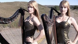 SWEET CHILD O' MINE (Guns N' Roses) Harp Twins - Camille and Kennerly HARP ROCK