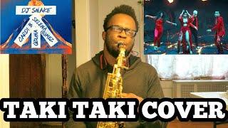 DJ Snake - Taki Taki - Saxophone Cover By Ikechi Onyenaka