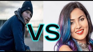 Ed Sheeran -Shape Of You VS vIDYA VOX -Cheez Badi Hai new version