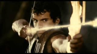 House of Flying Daggers vs Immortals arrow scene