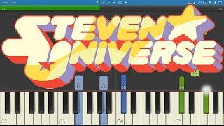 """Steven Universe - Both Of You Piano Tutorial - """"Mr Greg"""""""