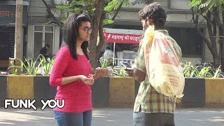 Beggar with iPhone Prank by Funk You (Pranks in India) (English Subtitles) width=