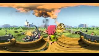 Clash of clans 360° Movie