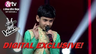 Coach Shaan's Funny Shlok Tongue Twister For Ishaan | The Voice India Kids - Season 2