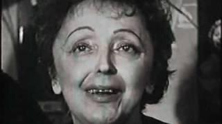 Edith Piaf  interview - 1962