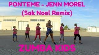 PONTEME - Jenn Morel (Sak Noel Remix) by Martina Banini // ZUMBA KIDS