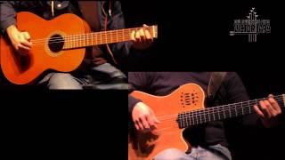 El Derecho de Vivir en Paz   Tutorial - Mil Guitarras para Victor Jara