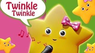 Twinkle Twinkle Little Star Karaoke Song For Children | Nursery Rhyme - Lattu Kids
