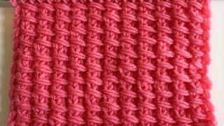 Le point de BAMBOU How to knit the BAMBOO stitch
