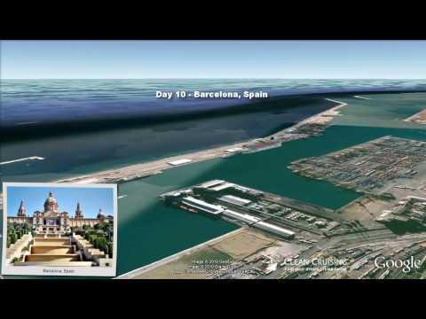 "Norwegian Jade video ""9 nt Canary Islands and Morocco"" ex Barcelona"