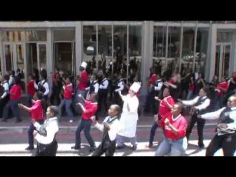 SCC Team gets down and dirty with the Diski Dance for 2010 World Cup