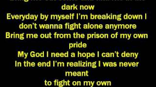 Ashes Remain-On My Own Lyrics