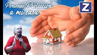Poniendo protección a mí casa - Luz Marina de Galvis width=