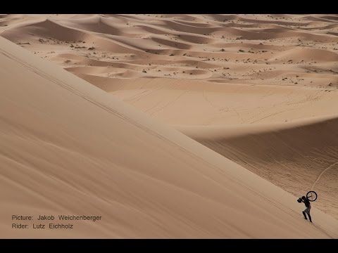 Freeride and Downhill Unicycling in Morocco / Sahara Desert