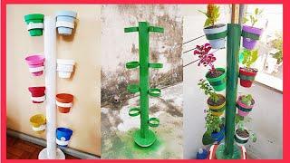 Incrível suporte para plantas (1metro = 8 plantas)