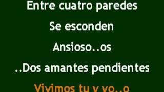 Los Vazquez-Entre cuatro paredes karaoke full