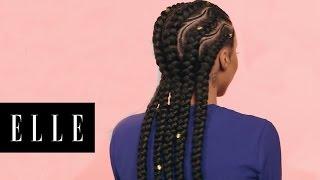 Spiral Braids for Natural Hair | ELLE