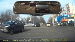 3 Часть. Все маршруты пяловского ГИБДД. Февраль 2016. Учебное видео
