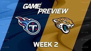 Tennessee Titans vs. Jacksonville Jaguars | Week 2 Game Preview | NFL Playbook