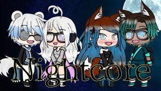 🌸 Nightcore- radioactive x dollhouse x gasoline x light em up🌸