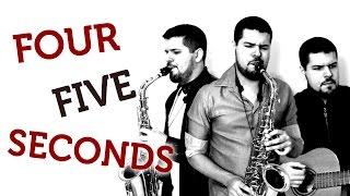 FourFive Seconds (Rihanna) - Sax Solo Cover