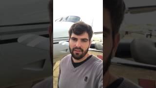 Depoimento do Piloto da dupla Fernando e Sorocaba sobre o Aeroporto de Chapadão do Sul