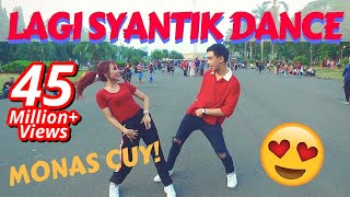 LAGI SYANTIK DANCE IN PUBLIC by Natya & Rendy  | Choreo by Natya Shina width=
