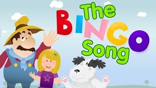 The Bingo Song with Lyrics | Nursery Rhymes | Songs for Kids