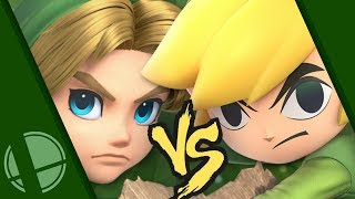 Young Link vs. Toon Link: Who's the ULTIMATE?! - Got A Minute?