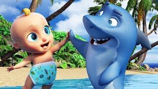 Tubarão Bebê (Baby Shark) - Músicas Infantis   O Reino Infantil