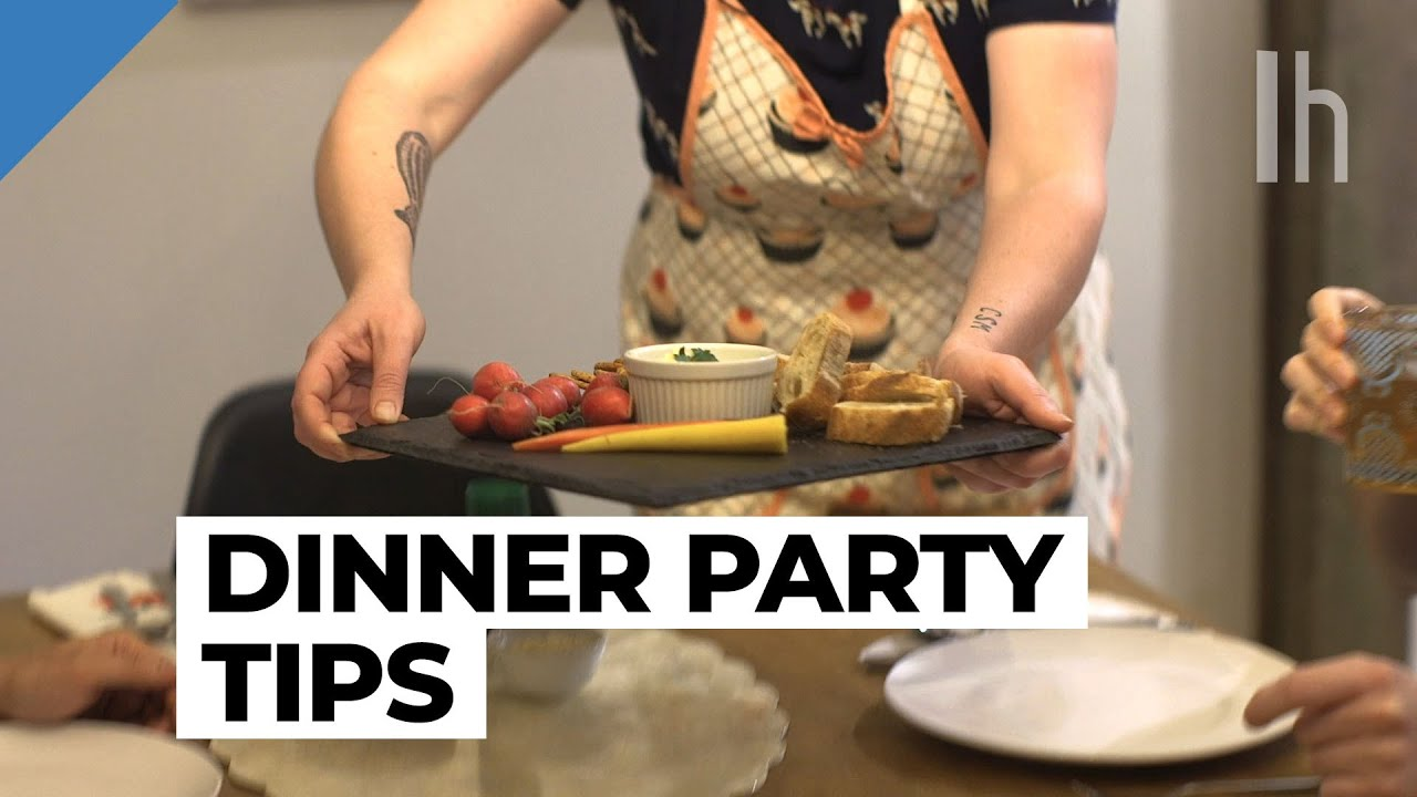 Elevate Your Dinner Party With These Fancy Details