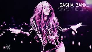 "WWE Sasha Banks 5th Theme Song ''Sky's The Limit"" 2019 ᴴᴰ [OFFICIAL THEME]"