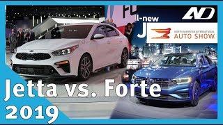 Volkswagen Jetta 2019 y Kia Forte 2019 ¿Quién ganará? - NAIAS 2018
