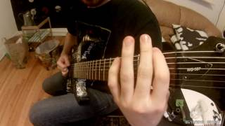 Suffocation - Bloodchurn (guitar cover)