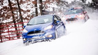 Destroy the Ford Fiesta ST! | Slides, Bumps, and Jumps at 100-Acre Wood Rally