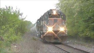 Missouri & Northern Arkansas (MNA) train in Lees Summit, MO - 4/29/2016