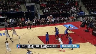 Yanick Moreira posts 15 points & 10 rebounds vs. the 87ers, 12/27/2016